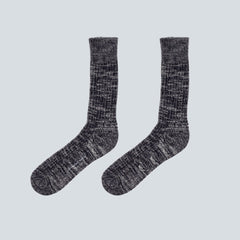 UNIVERSAL WORKS-MARL SOCK-NAVY