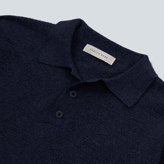 Kestin Hare-Mantle Long Sleeved Polo-Navy