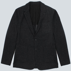 AMI-2 BUTTONS JACKET-ANTHRACITE