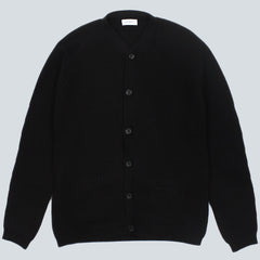 SATURDAYS NYC - JACOB CARDIGAN - BLACK