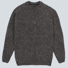 BARBOUR - NETHERBY JUMPER - GREY