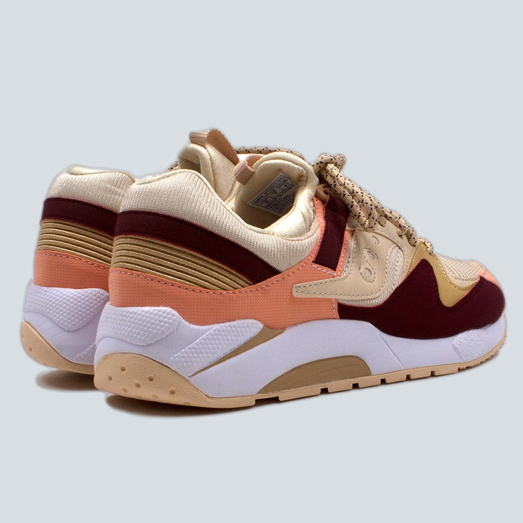 SAUCONY - GRID 9000 - CREAM/RED/PINK