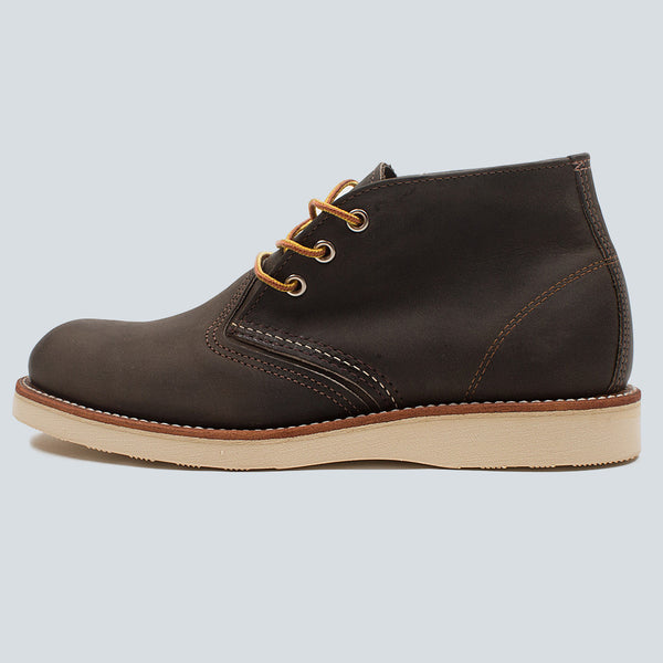 RED WING - WORK CHUKKA - CHARCOAL ROUGH & TOUGH