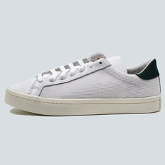 ADIDAS ORIGINALS - COURT VANTAGE - WHITE / GREEN