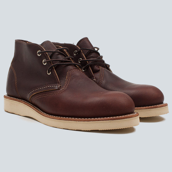 RED WING - WORK CHUKKA - BRIAL OIL SLICK