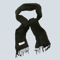 UNIVERSAL WORKS-SCARF OLIVE/CHARCOAL