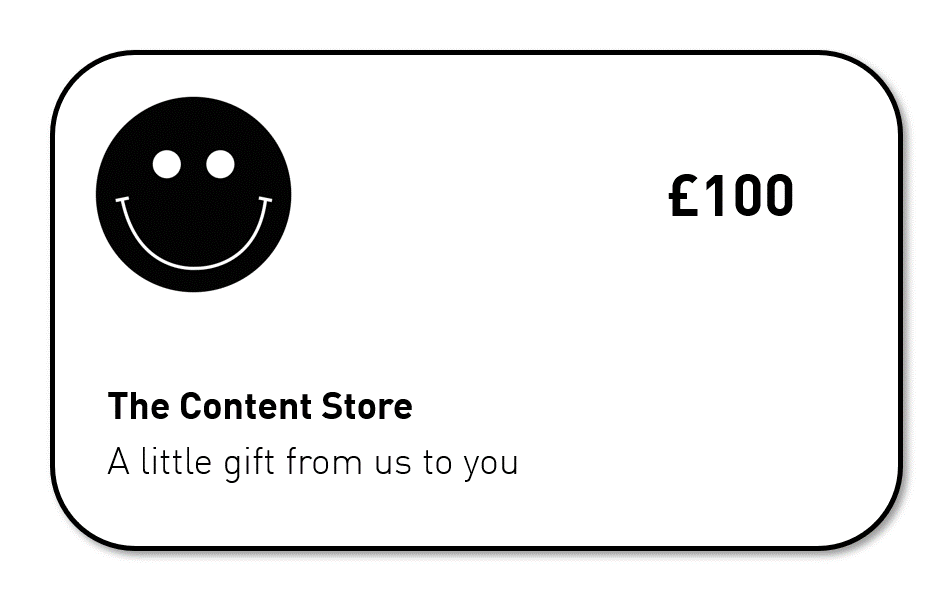 The Content Store Gift Card