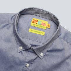 SUNNY BELL STUDIOS - OXFORD SHIRT- NAVY