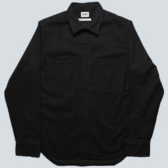 Edwin - French Flannel Blend - Dark Charcoal