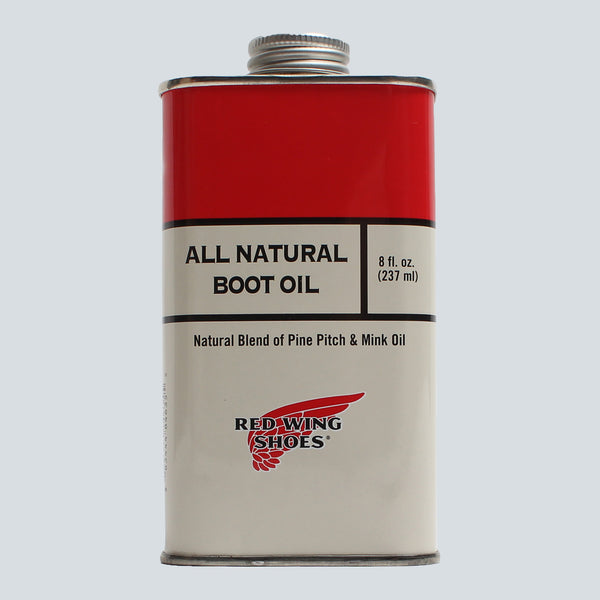 RED WING - BOOT OIL 8oz - NATURAL