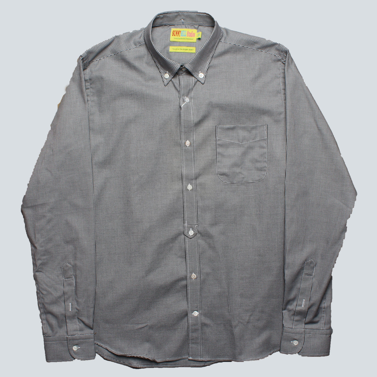 SUNNY BELL STUDIOS - OXFORD SHIRT - BLACK CHECK