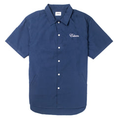 Edwin - Pocket Bowling Shirt - Navy