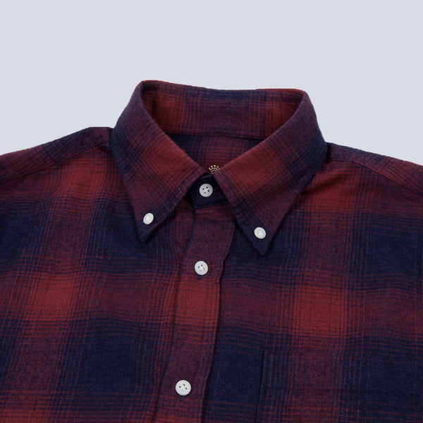 A.B.C.L-BD SHIRT-RED / BLUE CHECK