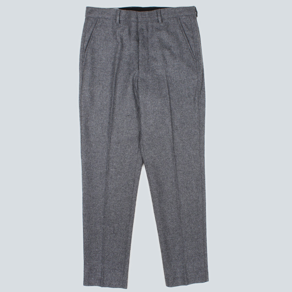 Carrot Fit Trousers - Grey