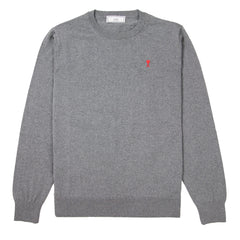 AMI - DE COEUR KNIT - GREY