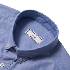 AMI - DE COEUR SHIRT - LIGHT BLUE