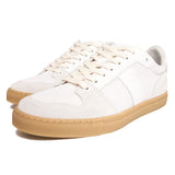 AMI - LOW TOP TRAINERS - WHITE