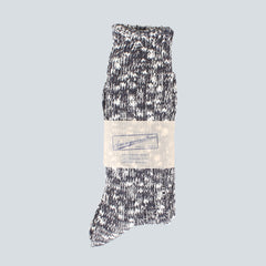 ANONYMOUS ISM-COLOUR MIX SOCKS-CHARCOAL