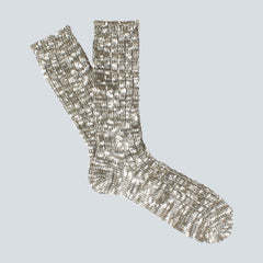 ANONYMOUS ISM-COLOUR MIX SOCKS-OLIVE
