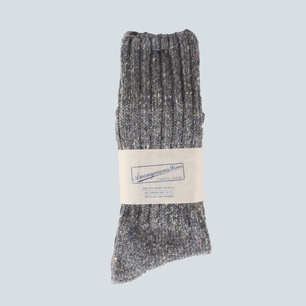 ANONYMOUS ISM-THICK SOCKS-GREY