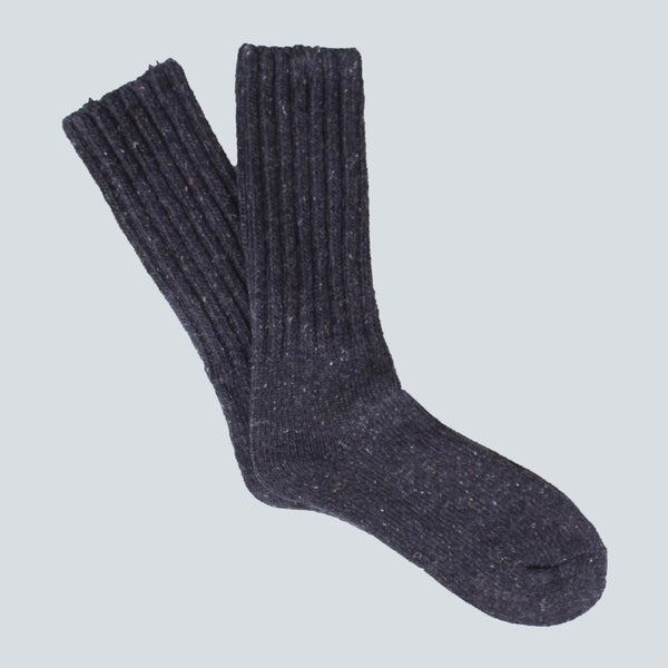 ANONYMOUS ISM-THICK SOCKS-NAVY