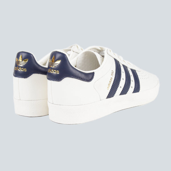 ADIDAS ORIGINALS-350-WHITE/NAVY/GOLD