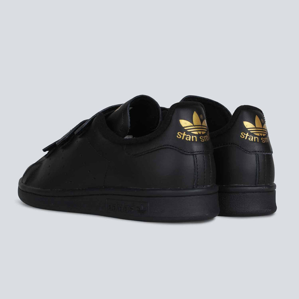 Adidas Stan Smith Black And Gold