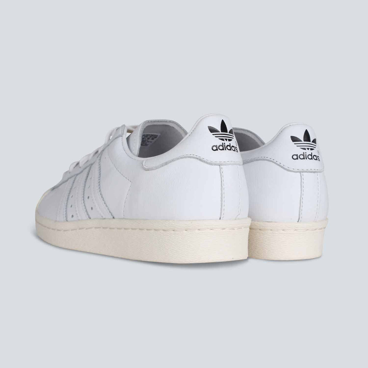 Adidas - Superstar 80's DLX - White/White/Cream White