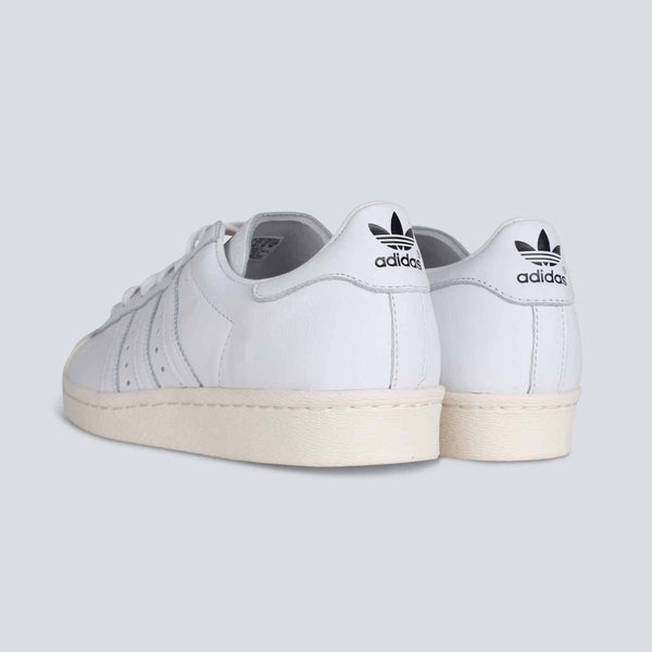 Adidas Originals Superstar 80's DLX - White / White / Cream White