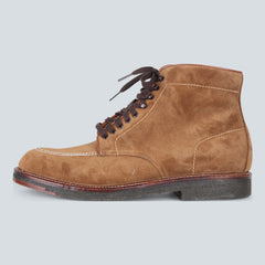 Alden Crepe Sole Plain Toe Boot - Snuff Suede