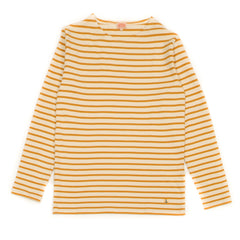 ARMOR-LUX - HERITAGE BRETON SHIRT - NATURE / DARK YELLOW