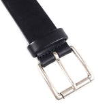 ANDERSONS - CALF LEATHER BELT - BLACK