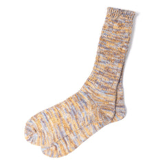 ANONYMOUS ISM - CREW SOCK - YELLOW MIX