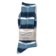 ANONYMOUS ISM - CREW SOCK - NAVY, BLUE, WHITE