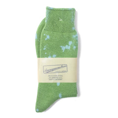ANONYMOUS ISM - CREW SOCK - GREEN