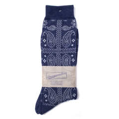 ANONYMOUS ISM - CREW SOCK - NAVY PATTERN
