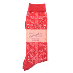 ANONYMOUS ISM - CREW SOCK - RED PATTERN