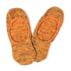 ANONYMOUS ISM - TRAINER SOCK - ORANGE MIX