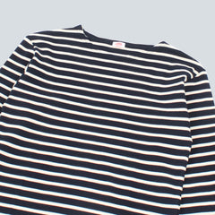 Armor-Lux Marinere L/S T-Shirt - Navy / Zand