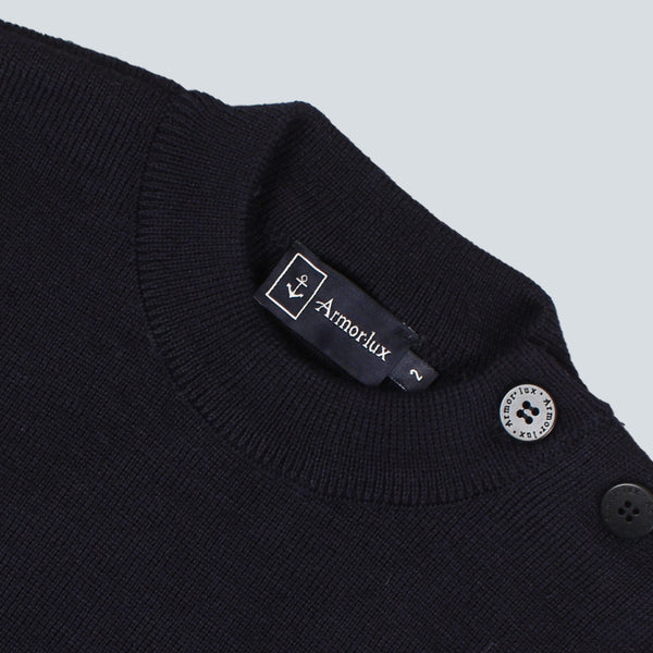 Armor-Lux Plain Knit - Navy