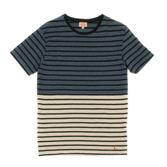 ARMOR-LUX - T-SHIRT S/S - CICLONE / NAVY