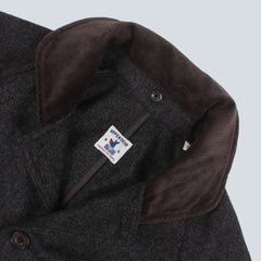 Arpenteur Wool Melton Parka  - Grey