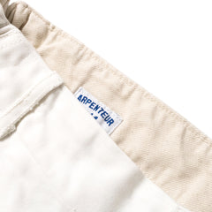 ARPENTEUR - PETANQUE SHORTS - OFF WHITE