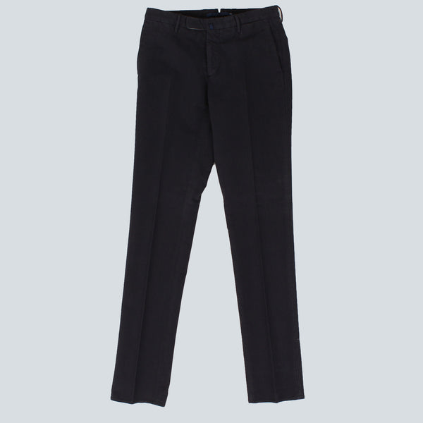 INCOTEX-MENS TROUSERS-NAVY
