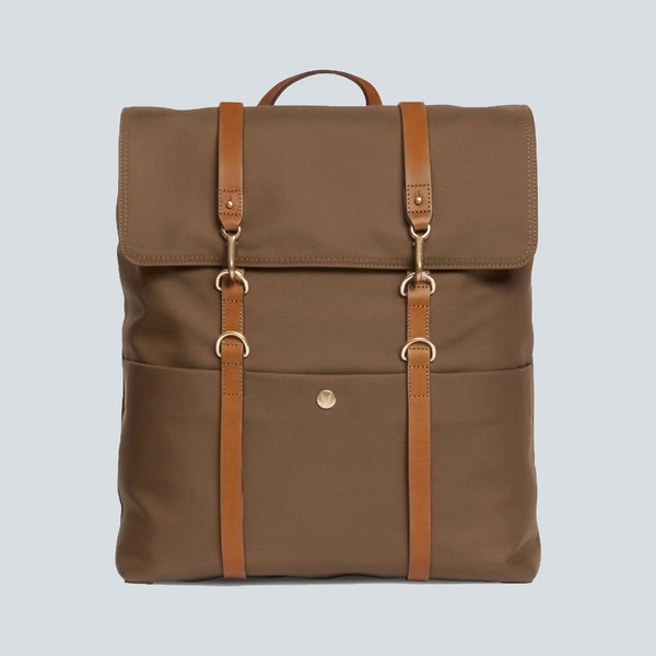 MISMO - M/S BACKPACK - SEPIA / CUOIO