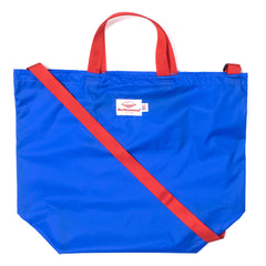 BATTENWEAR - PACKABLE TOTE - ROYAL/RED