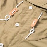 BATTENWEAR - PACKABLE ANORAK - BEIGE