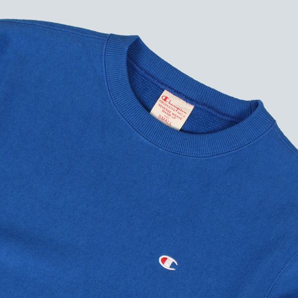 CHAMPION-CREWNECK SWEATSHIRT-ROYAL BLUE
