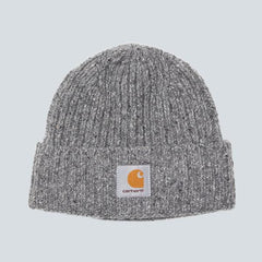 Carhartt Anglistic Beanie - Dark Grey Heather