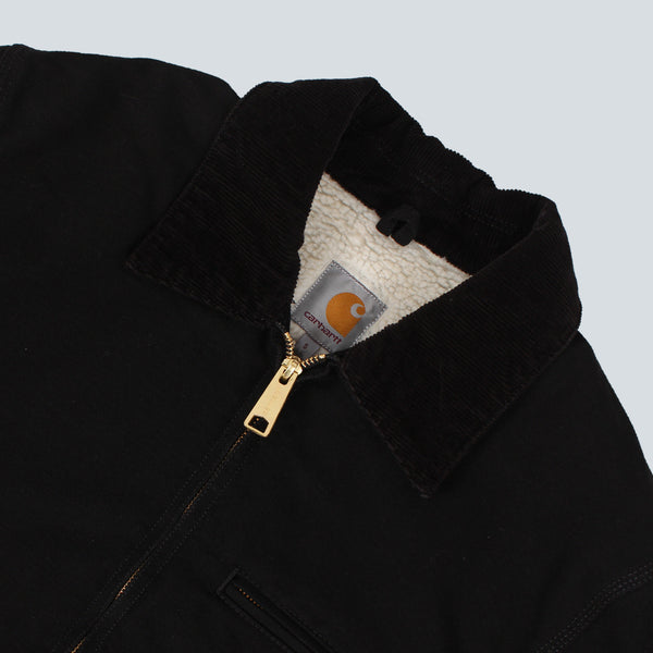 Carhartt Detroit Jacket - Black Rinsed